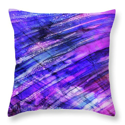Space Rock Mountains 7 - Throw Pillow