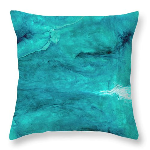 Swept Away - Throw Pillow