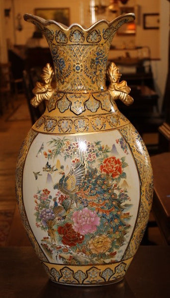 Handpainted Japanese Vase