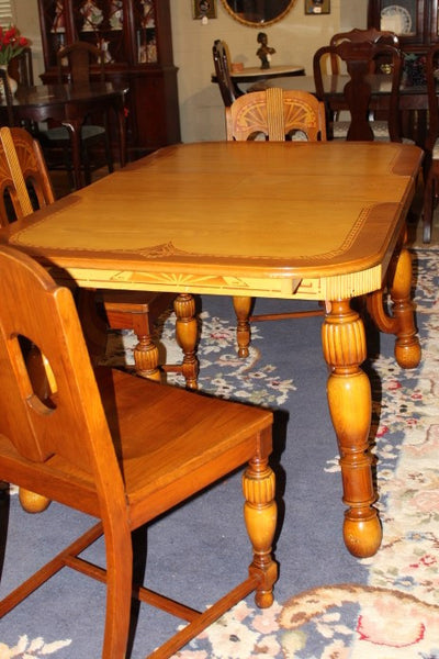 30s Stenciled Table/Chairs
