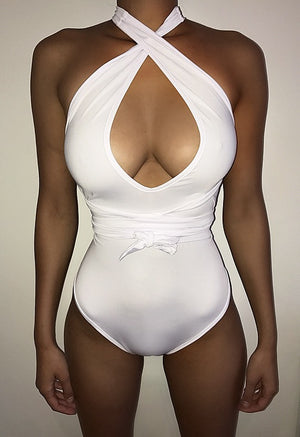 White Swimsuit Multiway