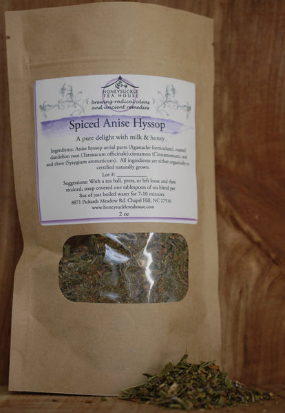 Spiced Anise Hyssop