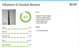 NEwhere E Hookah Pen Review