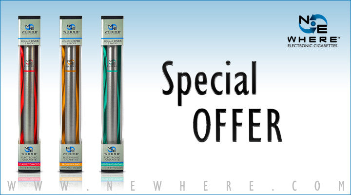Electronic Cigarette Specials