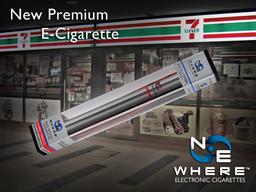 Electronic Cigarettes at 7 eleven
