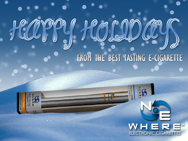 Happy Holidays – from the Best Tasting E-Cigarette