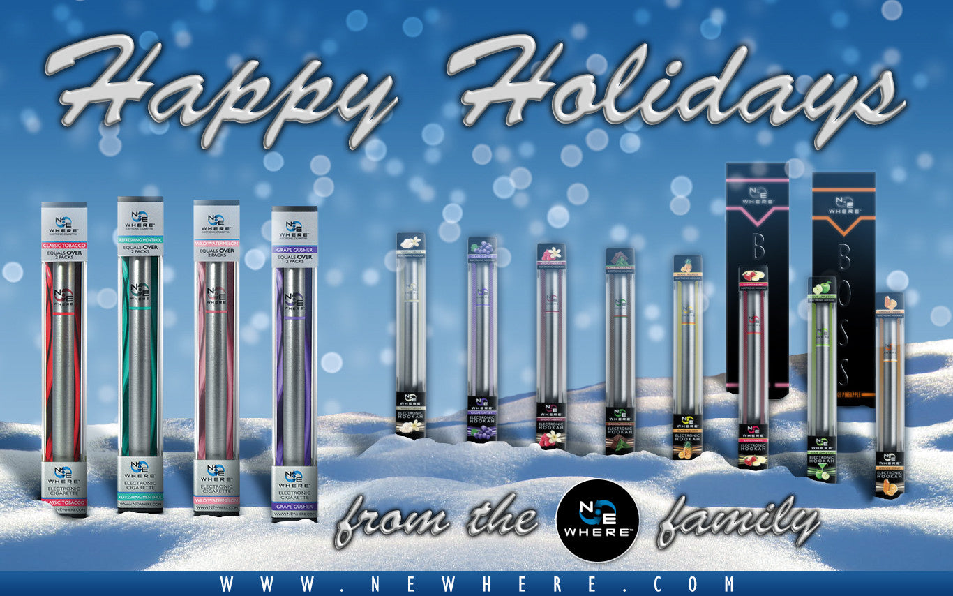 Happy Holidays | E-Cigarettes | E-Hookahs | E-Cigars 2013