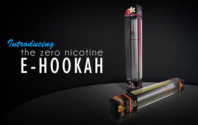 New Disposable ZERO Nicotine E-Hookah Pen
