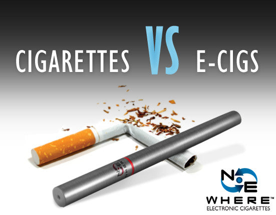 Regular Cigarettes vs Electronic Cigarettes