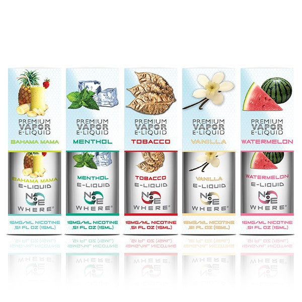 E-Liquid Juices - 5 Pack - Mix and Match