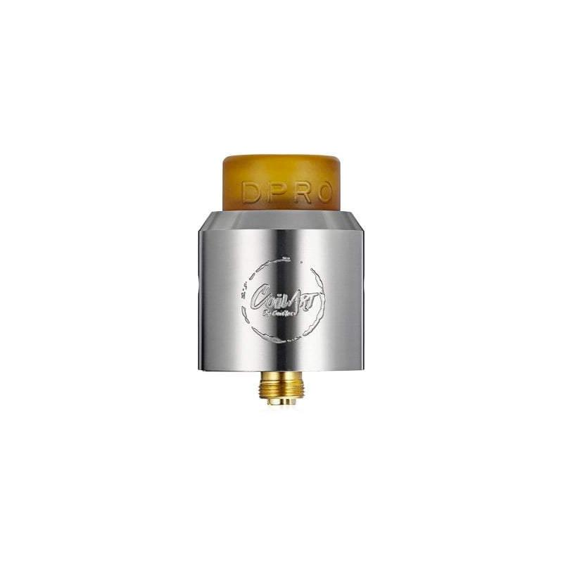 DPRO RDA by CoilArt - Stainless Steel