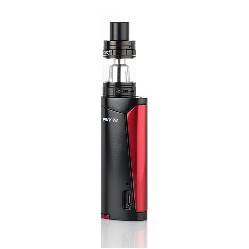 Smok Priv V8 Starter Kit - Black/Red