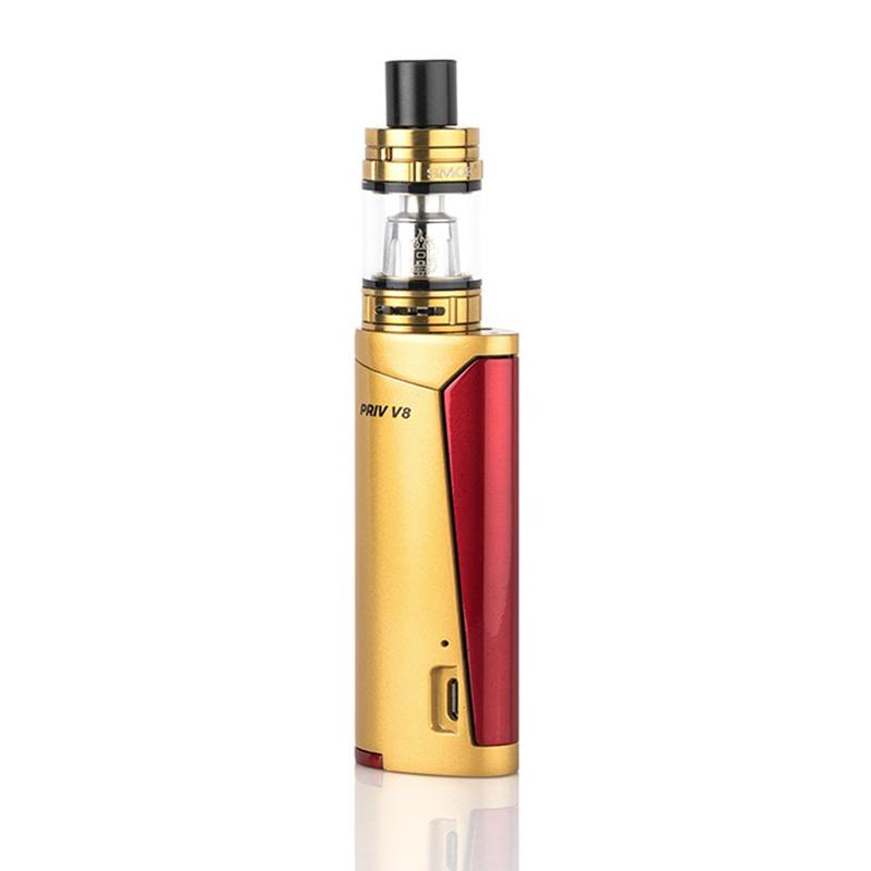 Smok Priv V8 Starter Kit - Gold/Red