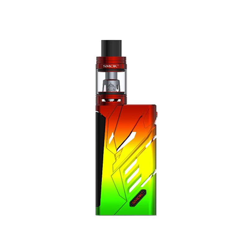 SMOK T-PRIV 220W TC Full Kit - Rasta Red
