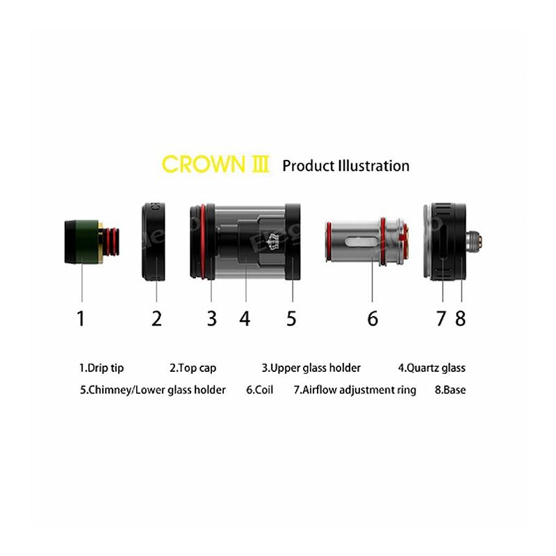Uwell Crown V3 tank - Parts