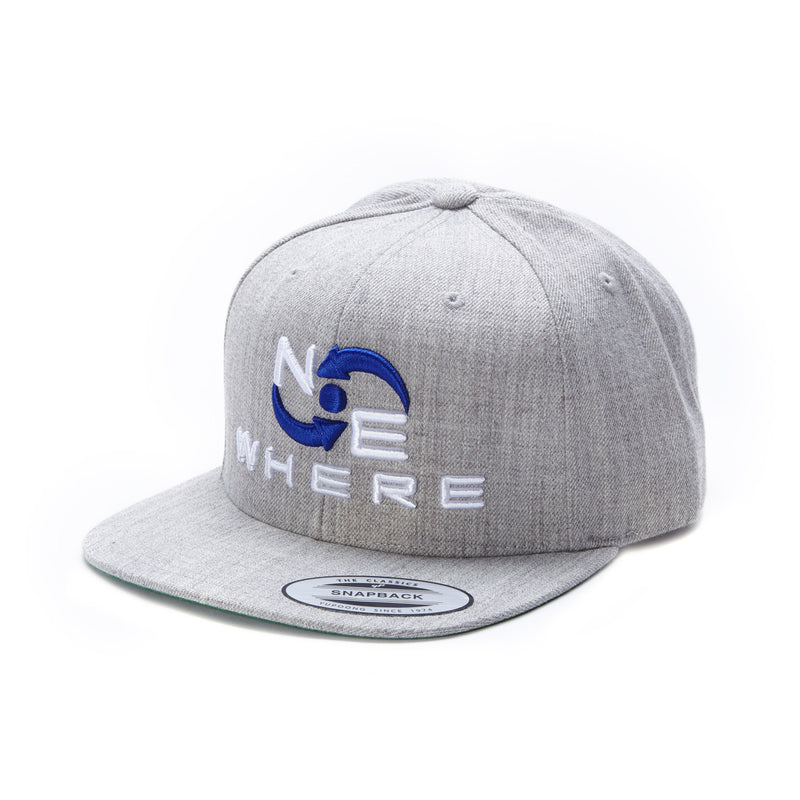 NEwhere Snap Back Hat -Grey