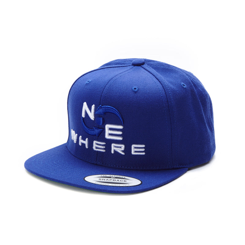 NEwhere Snap Back Hat - Blue