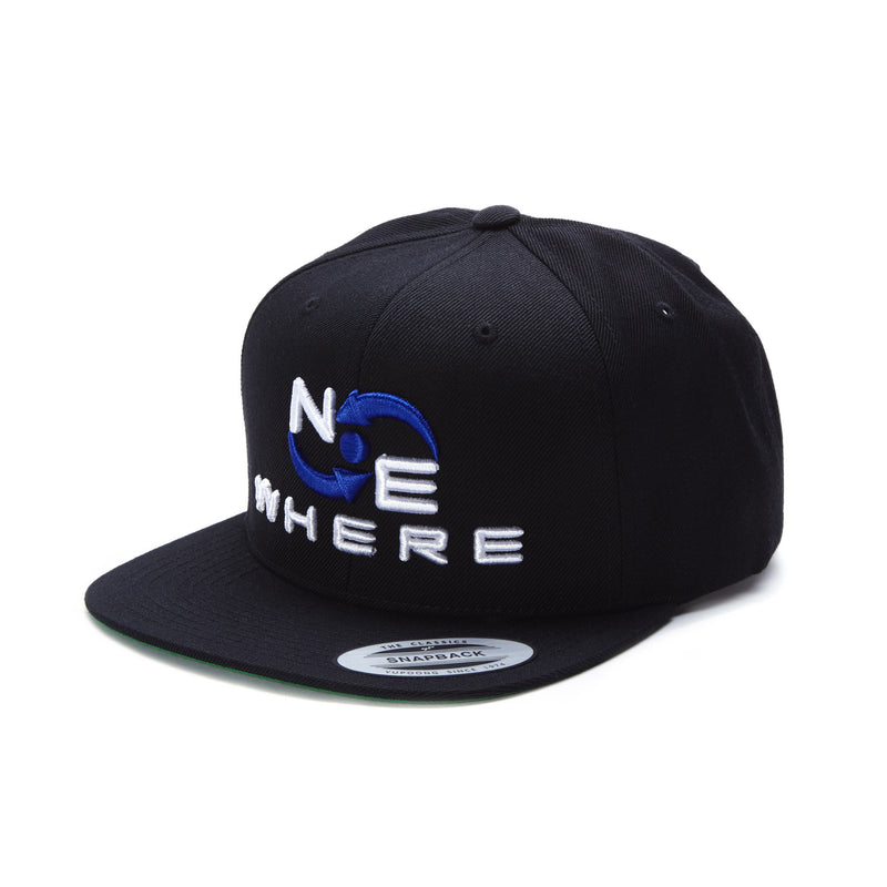 NEwhere Snap Back Hat - Black