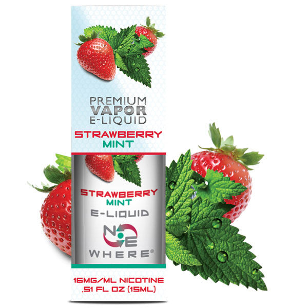Strawberry Mint E-Liquid Juice