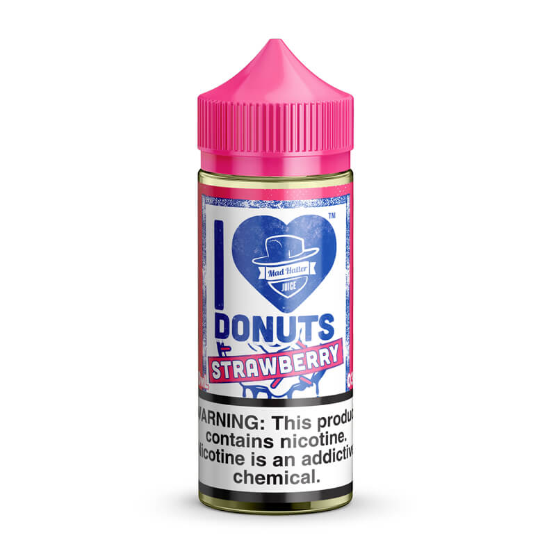 I LOVE DONUTS STRAWBERRY E-JUICE