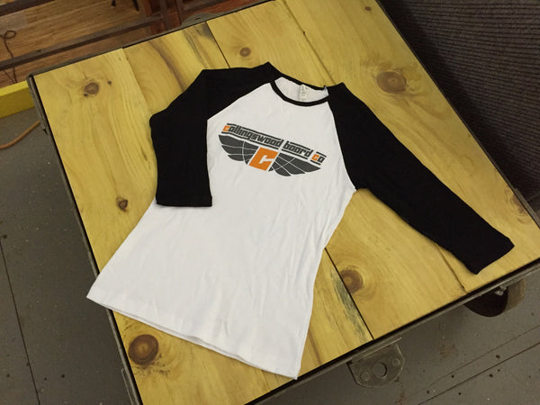 CLEARANCE! Baseball Tee - Ladies 3/4 Sleeve Tee