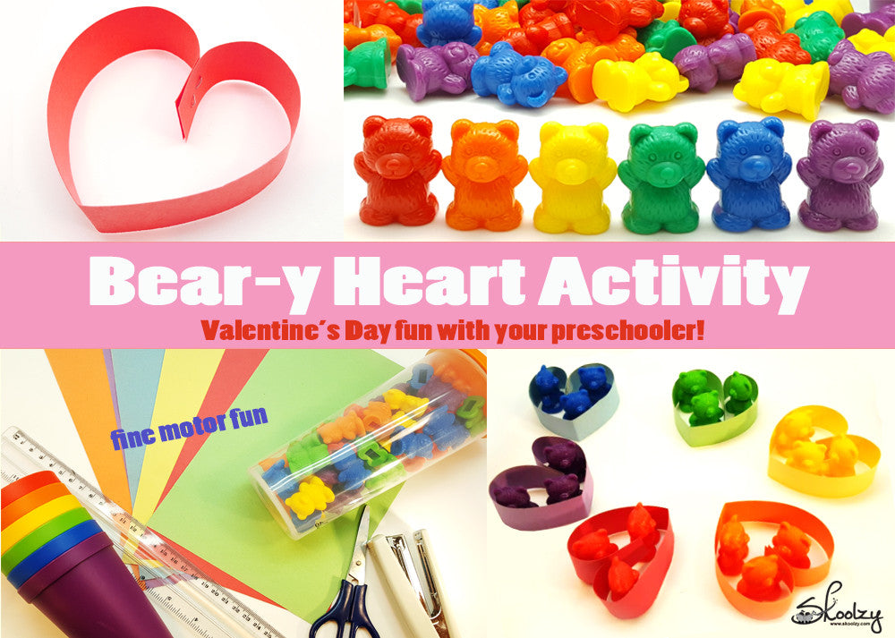 A Beary Happy Valentine's Day Fine Motor Activity