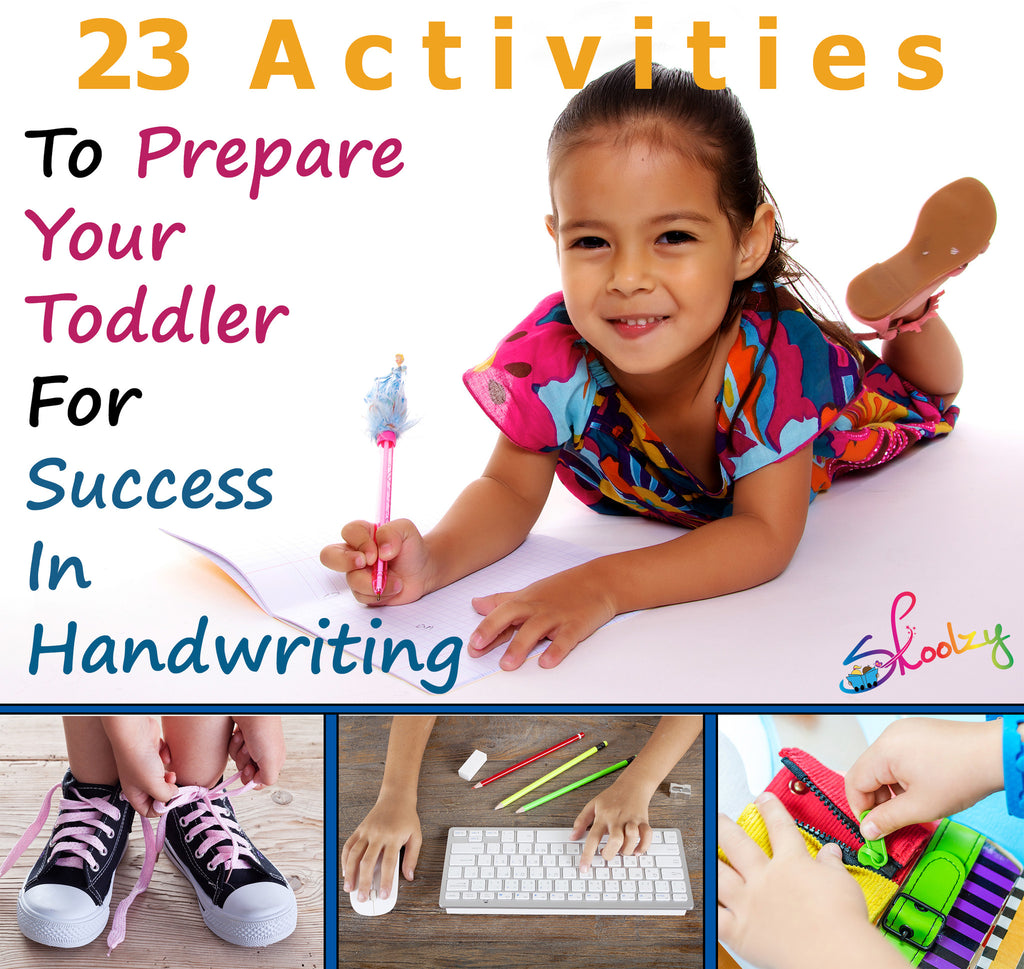 23 Activities to Prepare Your Toddler for Success in Handwriting