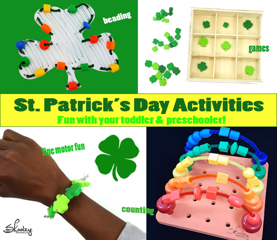 Celebrate St. Patrick's Day With Fun and Educational Fine Motor Skills Activities!