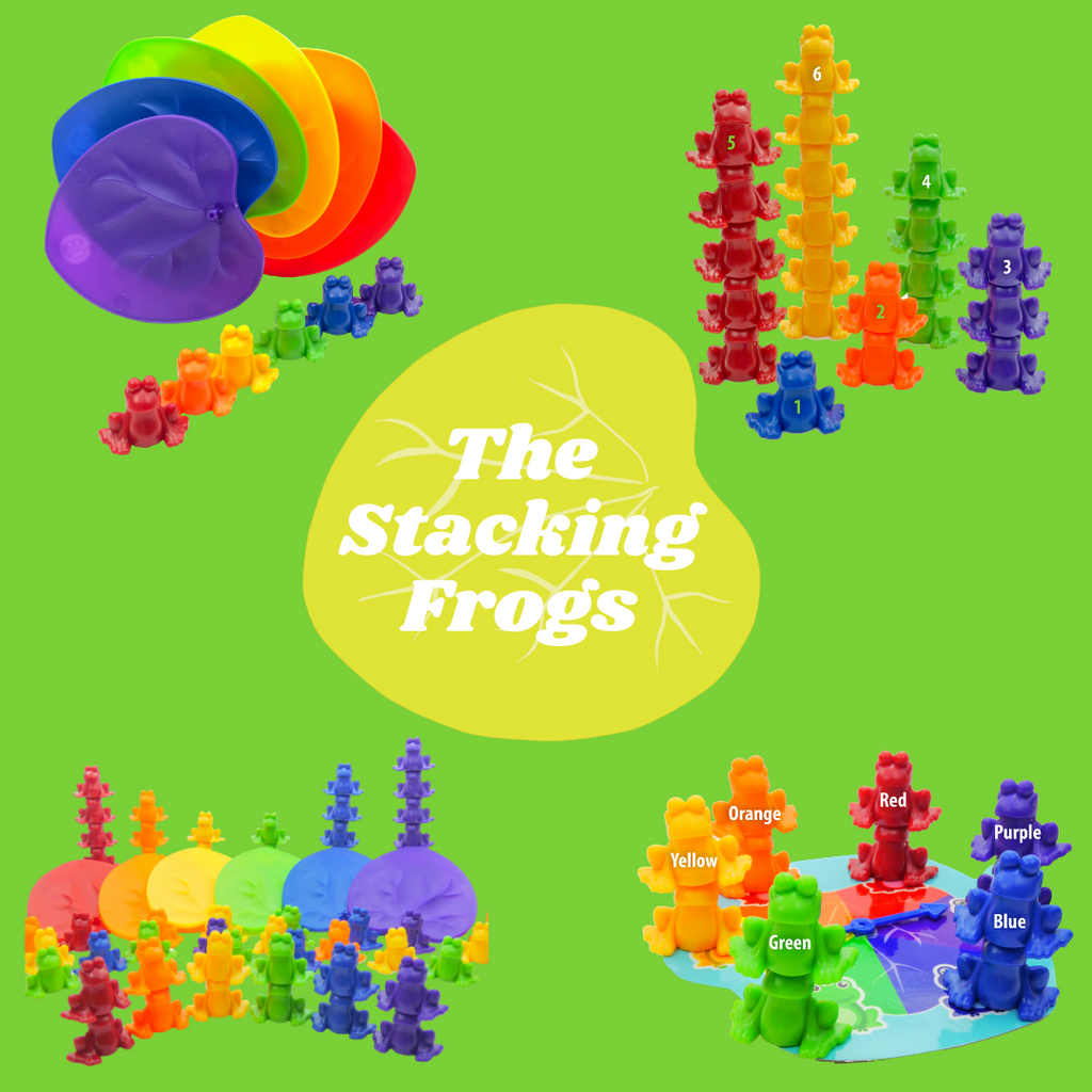 The Stacking Frogs are finally here