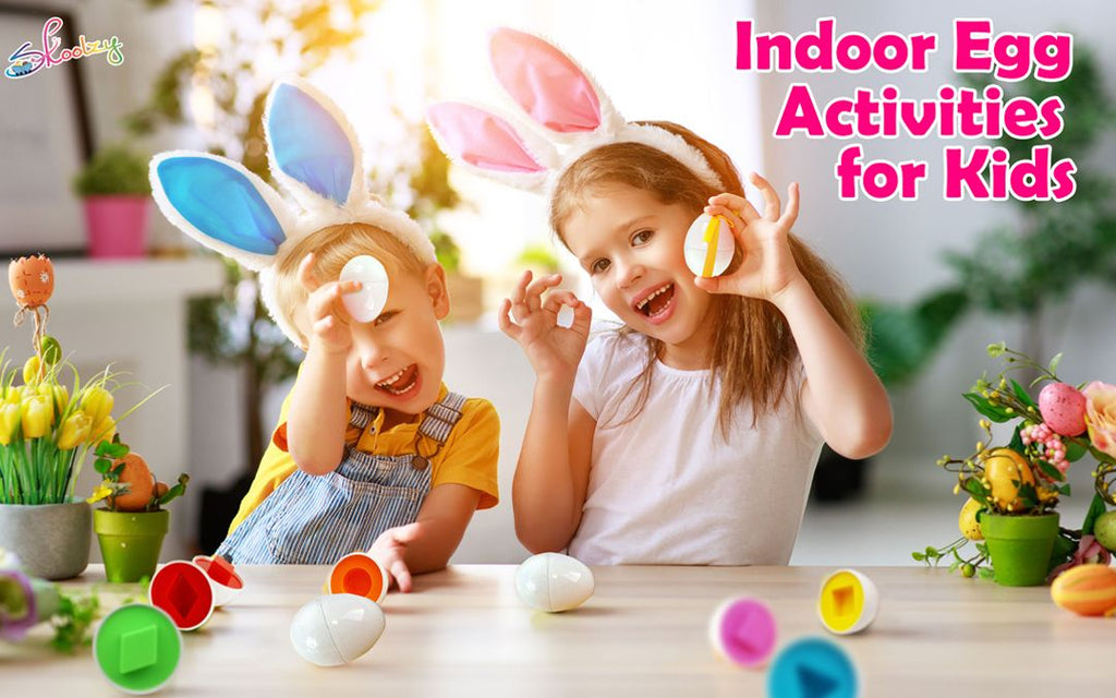 Indoor Egg Hunting Activities for Kids