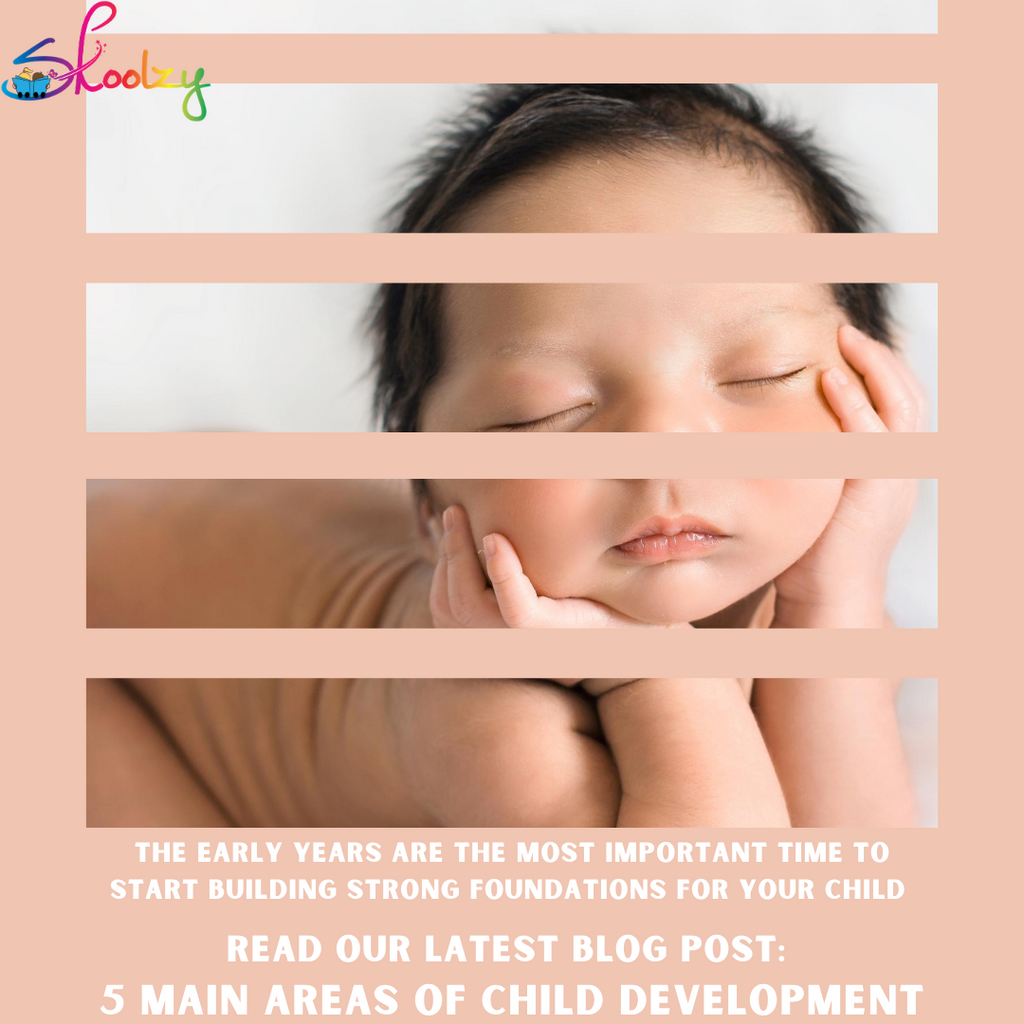 5 Main Areas of Child Development