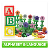 Wooden Language & Alphabet Blocks Toys For Toddlers