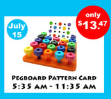puzzles for toddlers 3 years, peg board, peg board toys for kids, occupational therapy toys, skoolzy toys, montessori toys