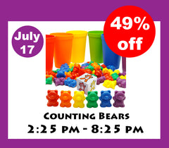 counting toys, preschool learning toys, counting bears, autism toys, montessori toys, 2 year old girl toys, toddler activities, skoolzy toys