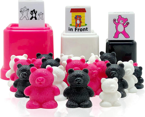 Preschool learning toy matching color set