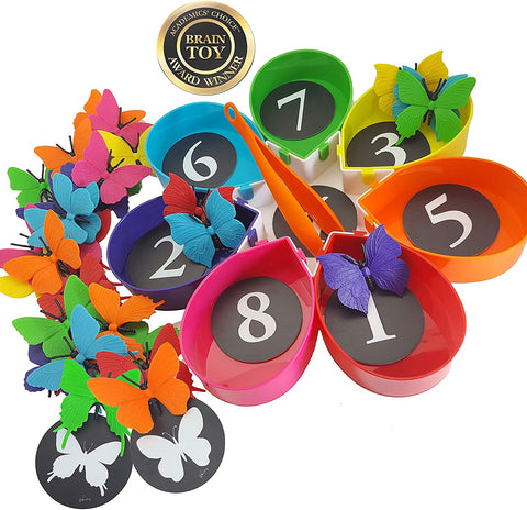 Preschool learning toy counting game