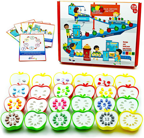 Preschool learning toys number puzzles