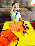 pegboard, stacking, fine motor skills, occupational therapy, toddler activities