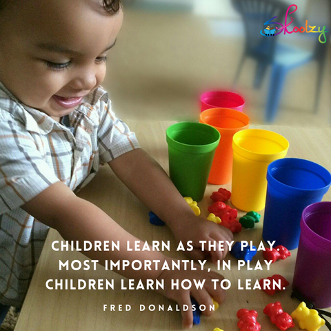value of learning through play