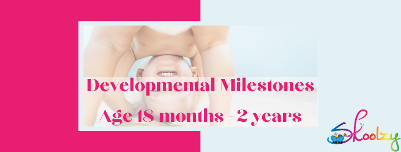 Developmental Milestones 18 - 24 months