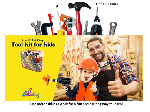 kids tool set activity guide