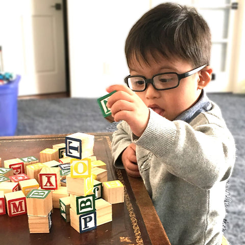 Learning toys for toddlers alphabet blocks