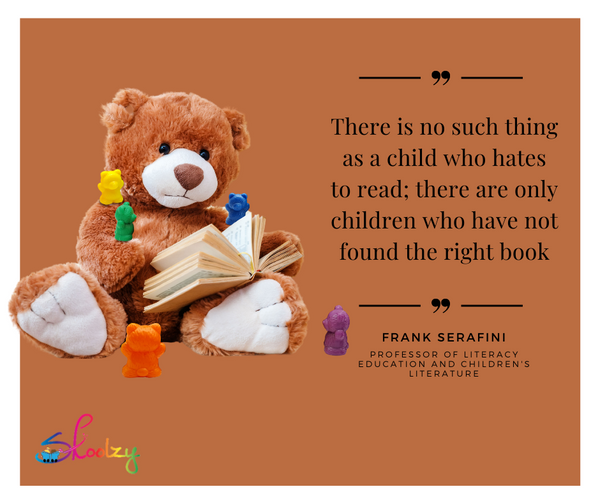 Parenting Tip - Foster A Love of reading