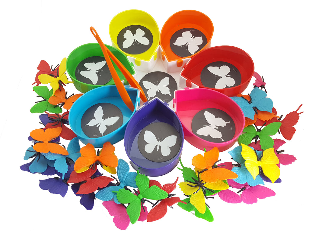 Rainbow Color Sorting Counting Matching Game for Toddlers ...