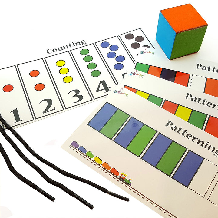 Game Extension Kit for Patterning, Counting & Lacing