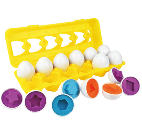 Skoolzy Toddler Toy Eggs - Shapes Puzzles for 2 3 Year olds<p><font><small><b>SK-062</small>