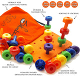 Pegboard Lacing Toys for Toddlers