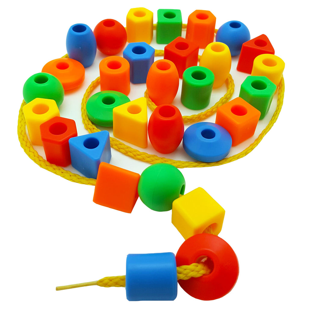 Big Toddler Lacing & Stringing Beads Set<p><font><small><b>SK-006</small>
