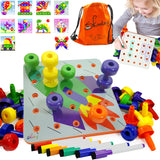 Creative Peg Board Toddlers kids