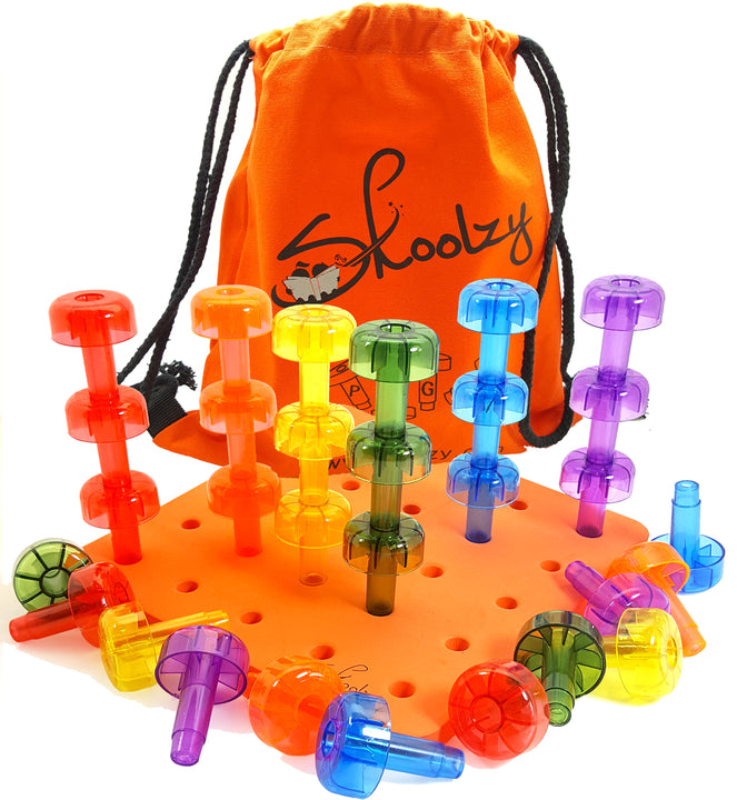 Stacking Crystal Peg Board Set<p><font><small><b>SK-011C</small>